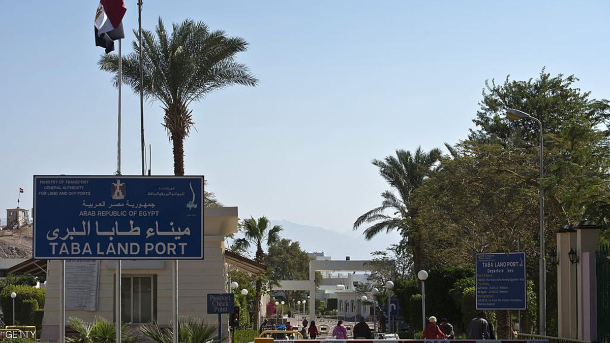 """На пограничном переходе """"Таба"""" образовалась четырехчасовая очередь из израильтян"""